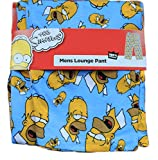 Men's Home Lounge Pants Small to Extra Large The Simpsons Lounge Pants Homer Pyjamas The Simpsons Pyjamas Fast 1st class Post