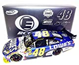 AUTOGRAPHED 2009 Jimmie Johnson #48 Lowe's Team 4X CHAMPION RCCA Elite NASCAR 1/24 Diecast