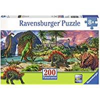 Ravensburger Puzzles The Land Of Dinosaurs, Multi Color (200 Pieces)