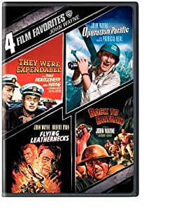 4 Film Favorites: John Wayne Collection (Back to Bataan / Flying Leathernecks / Operation Pacific / They Were Expendable) by Warner Home Video