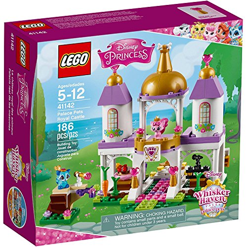 Lego Disney Princess Pocahontas' Raccoon and Princess Aurora's Cat Palace Pets Royal Castle 5+ years (Barbie Basics Accesory Pack compare prices)