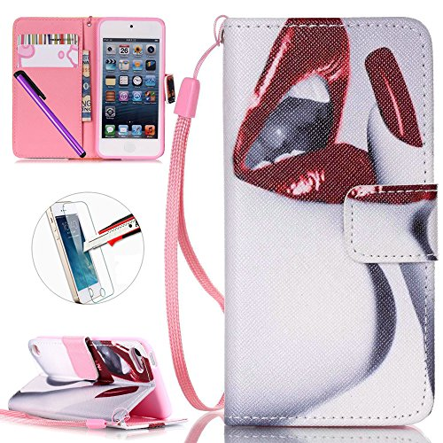 ipod-touch-5-ipod-touch-6-etui-newstars-touch-6-touch-5-etui-portefeuille-a-rabat-bequille-fente-pou