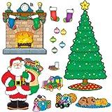 Carson Dellosa Christmas Scene Bulletin Board Set (110062)