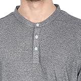 American-Crew-Mens-Henley-Full-Sleeve-Stripes-T-Shirt
