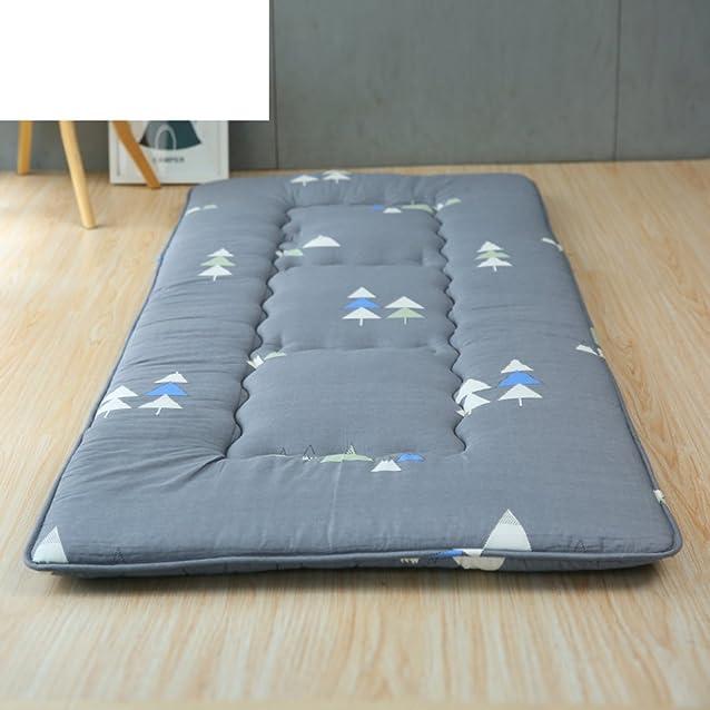 Materassi traspiranti addensato tatami stuoie pieghevoli singoli materassi doppi-C 90x200cm(35x79inch)
