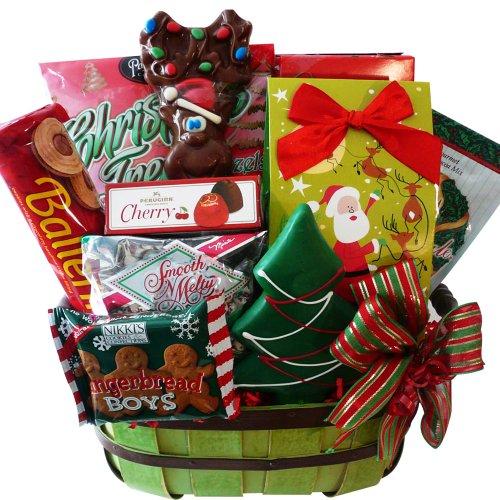 Good Cheer Christmas Holiday Gift Basket