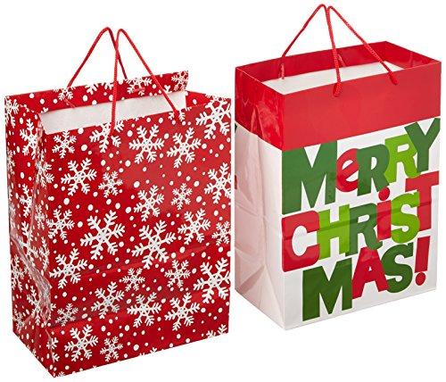 Hallmark Christmas Large Gift Bags (2 Pack)