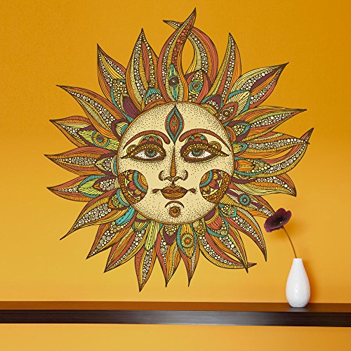 Celestial-Sun-Art-Wall-Sticker-Decal-Helios-by-Valentina-Harper