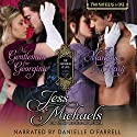 No Gentleman for Georgina/A Marquis for Mary: The Notorious Flynns, Volume 4 Audiobook by Jess Michaels Narrated by Danielle O'Farrell