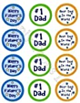 12 No 1 Dad Fathers Day rice paper fa...