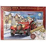 Falcon Christmas 1000 Piece Puzzle & 500 Piece 2015 Calendar