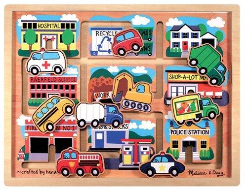 Melissa & Doug Deluxe Wooden Vehicles Maze Puzzle - Buy Melissa & Doug Deluxe Wooden Vehicles Maze Puzzle - Purchase Melissa & Doug Deluxe Wooden Vehicles Maze Puzzle (Melissa & Doug, Toys & Games,Categories,Preschool,Pre-Kindergarten Toys,Puzzles)