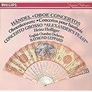 Handel: Oboe Concertos Nos.1-3/Concerto Grosso ''Alexander's Feast'' Etc.