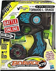 Beyblade Extreme Top System X-105 IR Spin Control Tornado L-Drago Top
