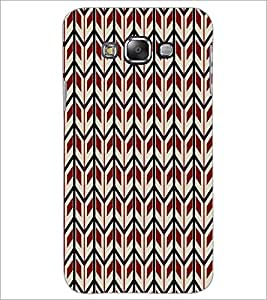 PrintDhaba Pattern D-5920 Back Case Cover for SAMSUNG GALAXY E7 (Multi-Coloured)
