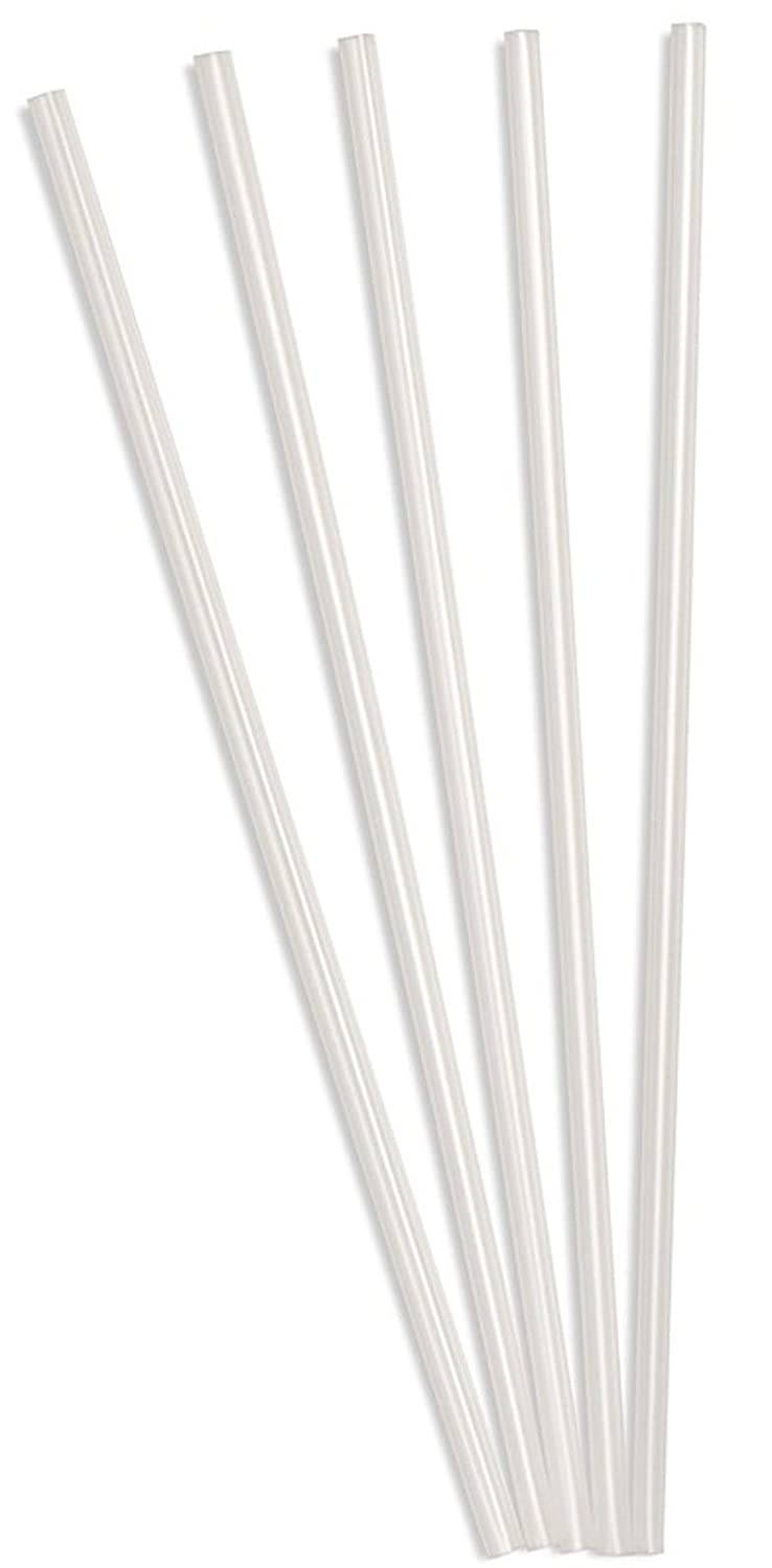 "Perfect Stix Clear Concession Straight-Cut Straw, Unwrapped, 7-3/4"" Length, Clear (Pack of 100)"