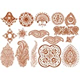 Henna set of temp tattoos by Inkwearby Inkwear