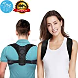 Premium Back Posture Corrector for Women & Men & Kids, Back Support Brace, Pain Relief Upper Back & Shoulder Brace, Perfect for Clavicle Support (Tamaño: 32-41 inch)