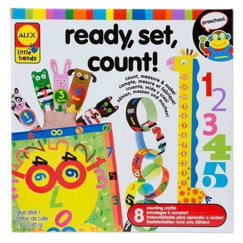 ALEX Toys Little Hands Ready Set Count - 1