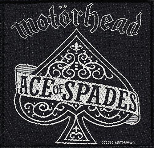 Toppa con Logo MOTÖRHEAD ACE OF SPADES, in Tessuto, 10 x 10 cm