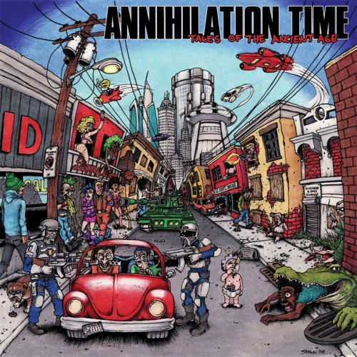 ANNIHILATION TIME - TALES OF THE ANCIENT AGE - LP