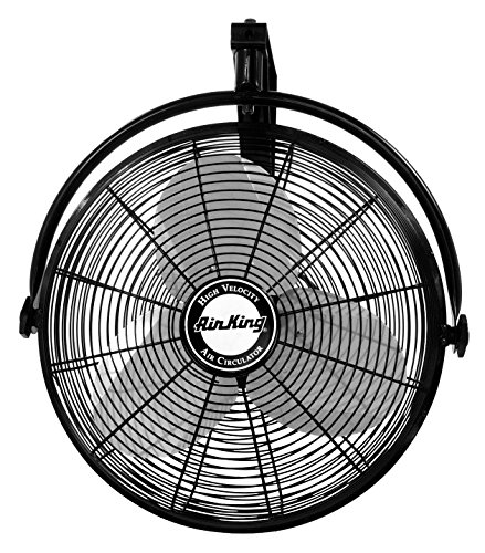Professional Grade Products 9800394 Shutter Exhaust Fan For Garage