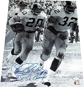 Rocky Bleier Autographed Pittsburgh Steelers 16x20 Photo (B&W) - JSA COA by Pittsburgh Steelers