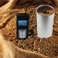 Digital Grain Seed Moisture Meter Rice Coffee Wheat 0 to 50% Range LED Indicator Tester