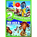 Rio/ Ice Age 3: Dawn of the Dinosaurs Double Pack [DVD] [2009]