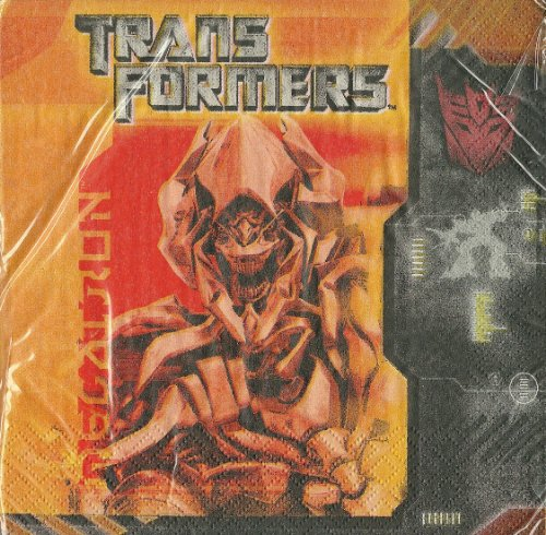 Transformers Beverage Napkins, 16ct