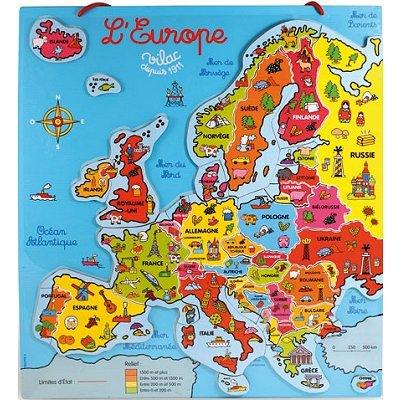 Carte Europe Janod.Puzzle Carte Magnetique Du Monde Pas Cher