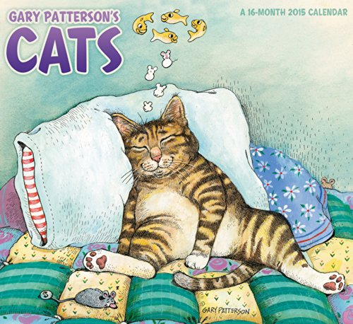 Download Gary Patterson's Cats Wall Calendar (2015)