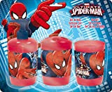 MARVEL SPIDER MAN 3pc BATH ACCESSORY SET BY HMI