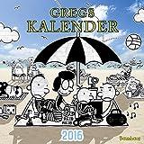 Gregs Kalender 2016: Mit Stickerbogen