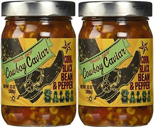 Trader Joe's Cowboy Caviar, 13oz/368g (Pack of 2) (Trader Joes Corn Salsa compare prices)