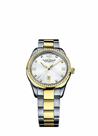 Louis Erard Women's 20100SB31.BMA20 Heritage Rose Gold Diamond Automatic Watch