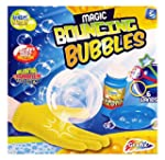 Blowing Magic Bouncing Bubbles Playset