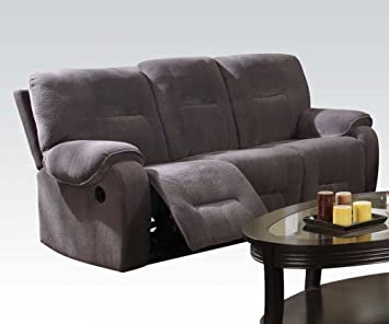 Champion Fabric Motion sofa by Acme Furniture