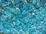 Teal-Lagoon-Crushed-Fire-Glass-12-34-Firepit-Glass-10-Pounds