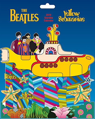The Beatles Yellow Submarine Standee 2016 Calendar