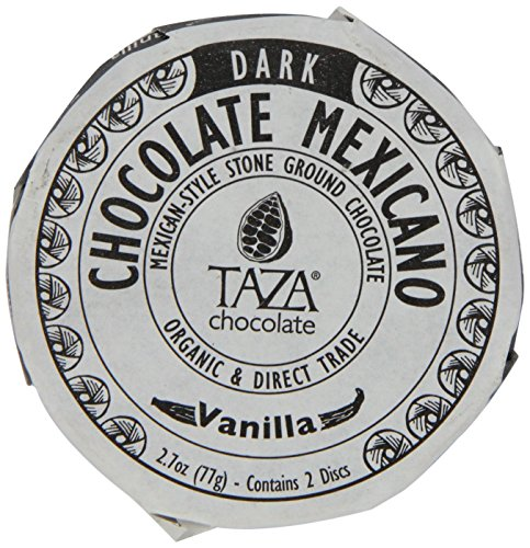Taza Chocolate Mexicano Chocolate Disc, Vanilla, 2.7 Ounce (Pack Of 12)