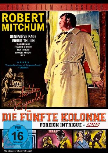 Die fünfte Kolonne (Foreign Intrigue) - Kultfilm mit Hollywood-Legende Robert Mitchum (Pidax Film-Klassiker)