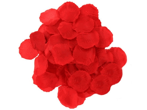 Weglow International 600 Rose Petals, Red