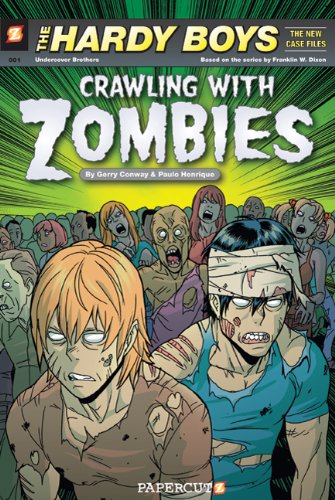 Hardy Boys The New Case Files #1: Crawling with Zombies (Hardy Boys Graphic Novels (Papercutz Hardcover))