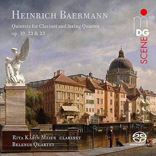 SACD : BAERMANN / BELENUS QUARTET / MEIER - Quintets For Clarinet & String Quartet Op. 19 22