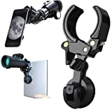 Universal Cell Phone Quick Photography Adapter Mount Holder Clip Bracket for Microscope Binocular Monocular Spotting Scope Telescope Accessories Work with iPad Smartphone Support Eyepiece 27 to 53mm