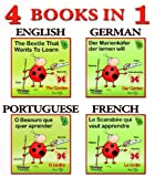 dictionary for kids - learn english, french, german and portuguese first words (kids dictionary first words collection)