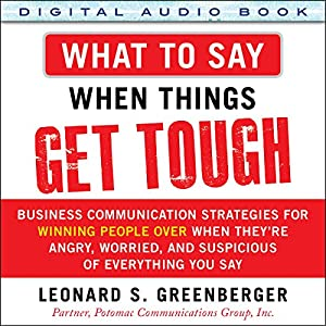 What to Say When Things Get Tough Audiobook