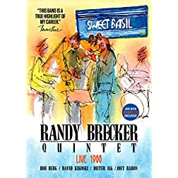 Randy Brecker Quintet - Live At Sweet Basil 1988 [Blu-ray]