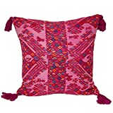 Laura Luna Textiles LL13A-253 Clochi Pillow, 20-Inch by 20-Inch